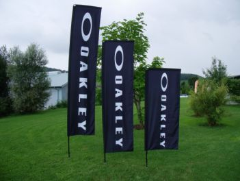 Square-Flags für Oakley