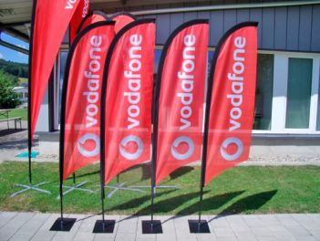 Eco-Flags für Vodafone