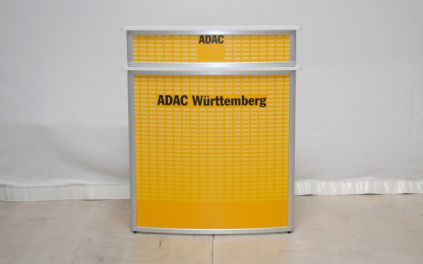 Promotiontheke Curved-Deluxe für ADAC