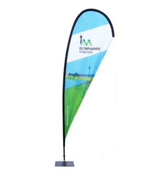 Display-Max | Beachflag M (330 cm)